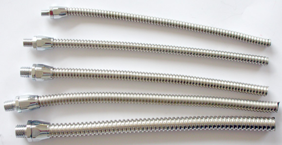 Flexible stainless steel conduits