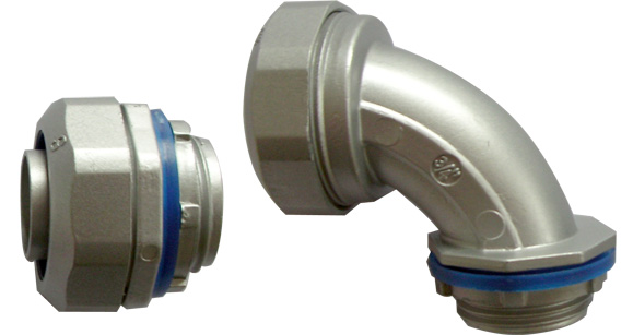 Liquid Tight Connector with sandbalsting surface finish