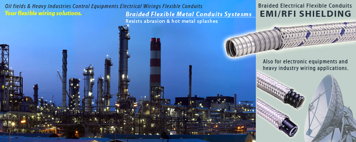 emc shielding flexible conduits