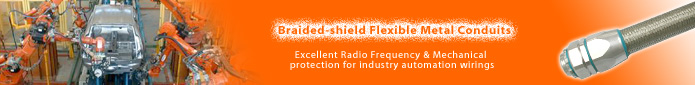 Braided-shield flexible conduit, Screen Flex