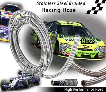 Stainless Steel wire Braided Racing Hose