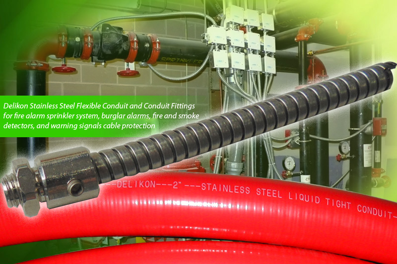Delikon Flexible Conduit And Conduit Fittings