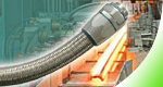 Delikon Heavy Series Over Braided Flexible Conduit and Fittings, Heavy Series Flexible Sheath for steel mill