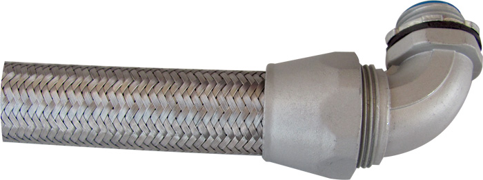 Over Braided Flexible Conduit Connector